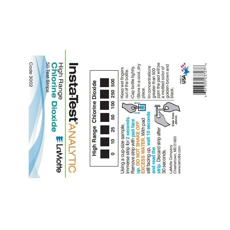 El dióxido de cloro Insta-TEST ®